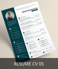 Resume CV 05