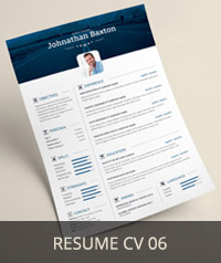 Resume CV 06