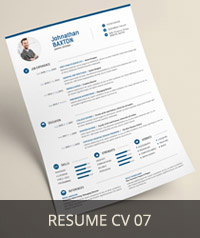 Resume CV 07