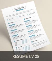 Resume CV 08